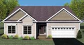 Plan Number 54062 - 1640 Square Feet