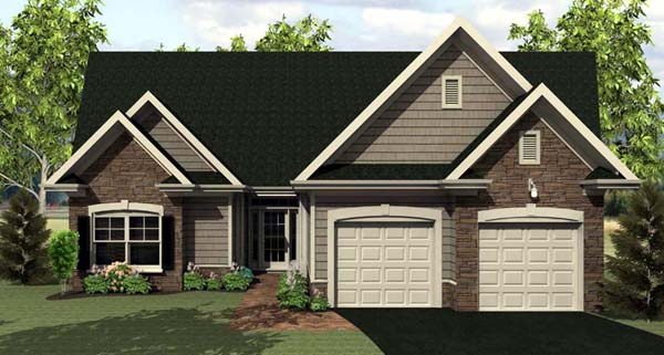 House Plan 54070 Elevation