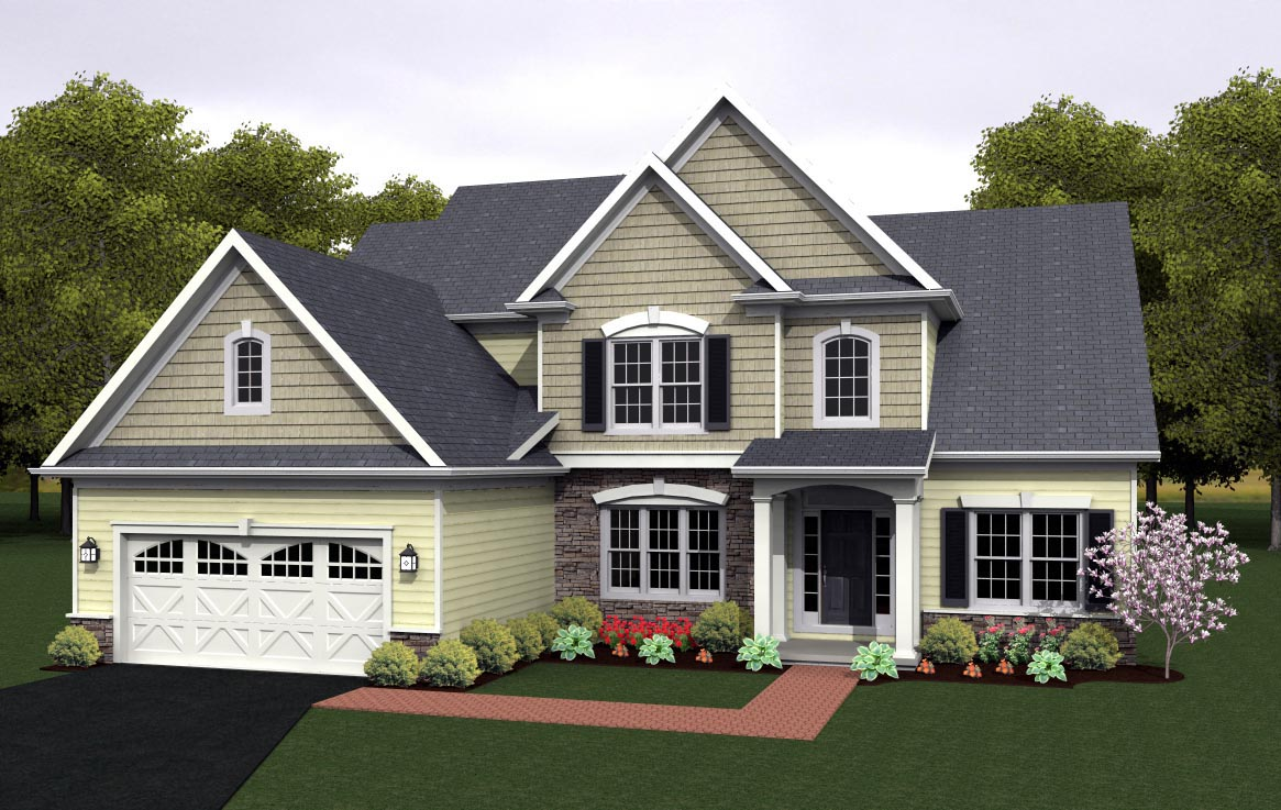 House Plan 54080 at FamilyHomePlans.com