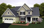 Plan Number 54080 - 2256 Square Feet