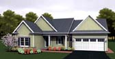 Plan Number 54088 - 1571 Square Feet