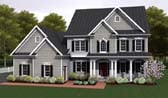 Plan Number 54096 - 2234 Square Feet