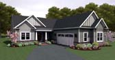 Plan Number 54106 - 1675 Square Feet