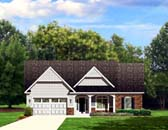 Plan Number 54107 - 1697 Square Feet