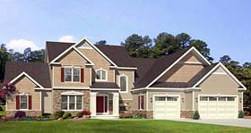 Cape Cod House Plan 54130 Elevation