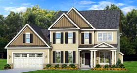 Traditional House Plan 54135 Elevation