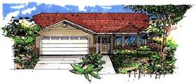 House Plan 54600