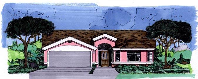 House Plan 54603