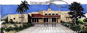 Santa Fe Southwest House Plan 54633 Elevation