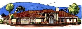 Southwest House Plan 54653 Elevation