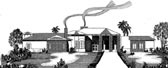 Plan Number 54705 - 3704 Square Feet