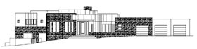 Contemporary House Plan 54710 Elevation