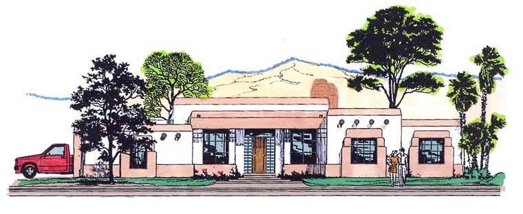 House Plan 54730