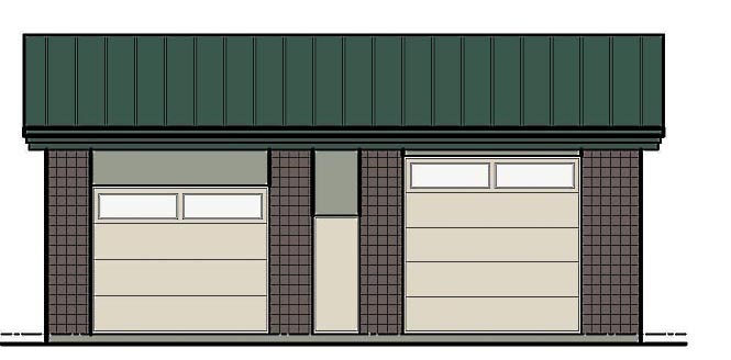 Garage Plan 54772 Elevation