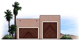 Garage Plan 54775 Elevation