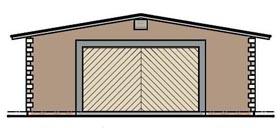 Garage Plan 54785 | Style Plan, 3 Car Garage Elevation