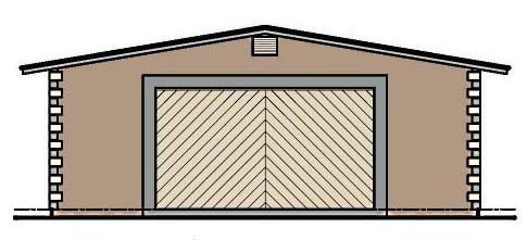 Garage Plan 54785 Elevation
