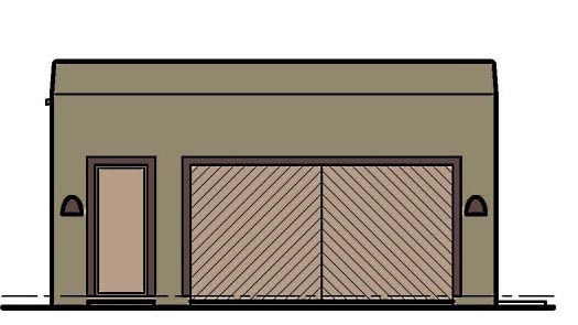 Garage Plan 54798 Elevation
