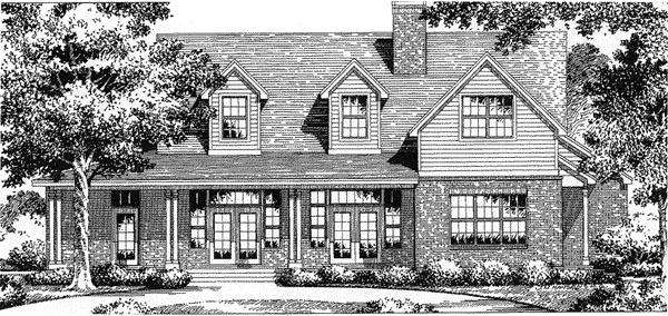 Florida Mediterranean House Plan 54829 Elevation
