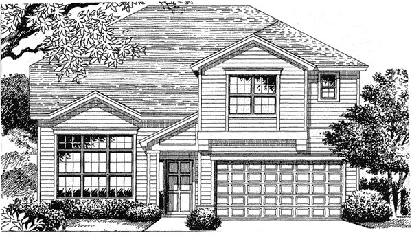 Florida Mediterranean House Plan 54835 Elevation