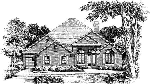 Florida Mediterranean House Plan 54846 Elevation