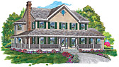 Country & Farmhouse Home Plans