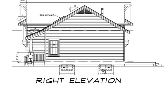 Bungalow, Craftsman, One-Story House Plan 55015 with 3 Beds, 2 Baths Picture 2