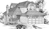 Plan Number 55036 - 1748 Square Feet