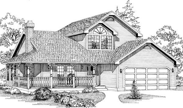 House Plan 55042