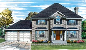 Plan Number 55051 - 3044 Square Feet