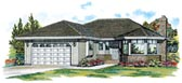 Plan Number 55057 - 1511 Square Feet
