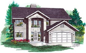 House Plan 55078