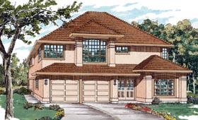 Florida House Plan 55081 Elevation