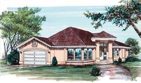 Florida House Plan 55083 Elevation