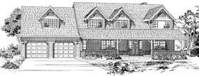 Country House Plan 55088 Elevation