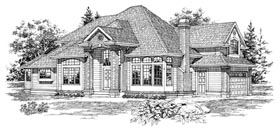 Plan Number 55095 - 2347 Square Feet
