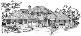 House Plan 55100