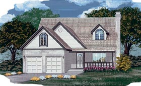 Country House Plan 55104 Elevation