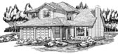 Plan Number 55105 - 1706 Square Feet