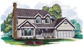 Plan Number 55116 - 1620 Square Feet