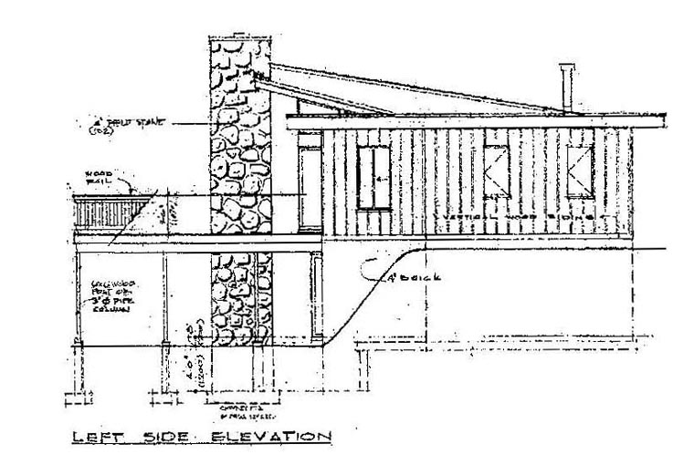 Contemporary House Plan 55138 with 5 Beds, 2 Baths Picture 1