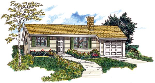 House Plan 55153