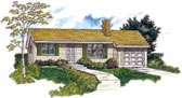 Plan Number 55153 - 1114 Square Feet