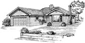 Plan Number 55164 - 1608 Square Feet