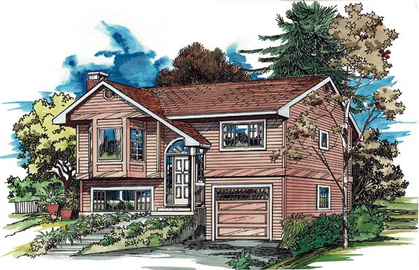 Traditional House Plan 55171 Elevation
