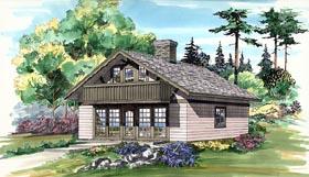House Plan 55173 Elevation