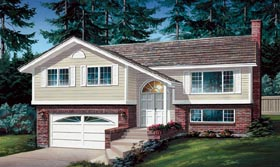 Ranch Traditional House Plan 55188 Elevation