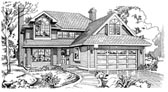 Plan Number 55199 - 1887 Square Feet