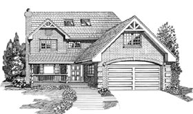 Contemporary House Plan 55208 Elevation