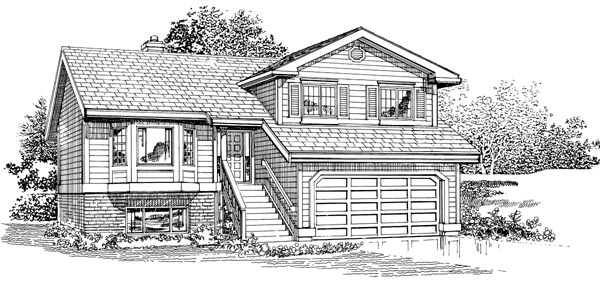 Traditional House Plan 55229 Elevation
